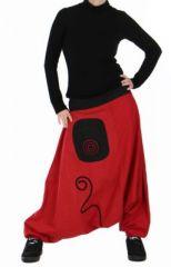 Sarouel original lindila rouge n�4 73632