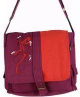 Sac � main ethnique gecko violet 74410