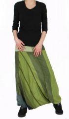 Sarouel mixte n�palais noya vert 74669
