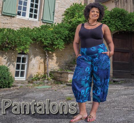 v tements grande taille femme de la robe pantalon tunique jupe sarouel. Black Bedroom Furniture Sets. Home Design Ideas