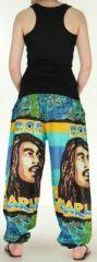 Agréable Pantalon coloré et imprimé Bob Marley Reggae 2 272585