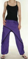 Agr�able Pantalon femme ethnique et pas cher Violet Kadhi n8 273067