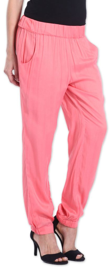 Agréable pantalon femme fluide et léger Rose Bety 273275