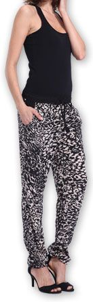 Agréable pantalon femme fluide imprimé Léopard Lexi 2 273557