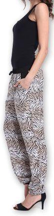 Agréable pantalon femme fluide imprimé Zèbre Lexi 1 273554