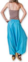 Authentique sarouel femme ethnique d'Inde Bleu Fanny 273460