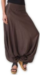 Authentique sarouel femme ethnique d'Inde Marron Fanny 273471