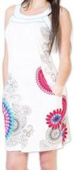 Belle robe d'�t� courte tendance et ethnique Blanche Larae 273543