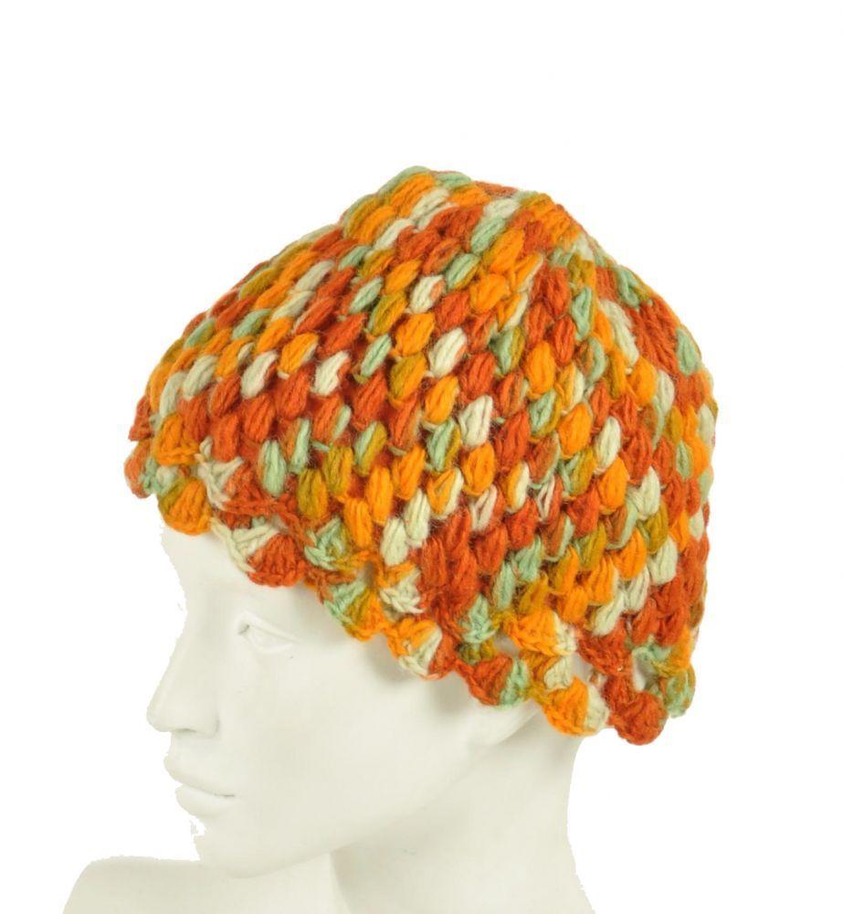 Bonnet en laine du Nepal 247817