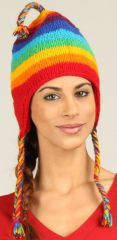 Bonnet Mixte en Laine Ethnique et Original Gularia Multi 277299
