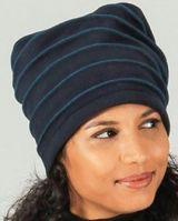 Bonnet pour femme original et pas cher Bleu Marine  Rufin 273213