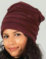 Bonnet pour femme original et pas cher Bordeaux  Rufin 273211