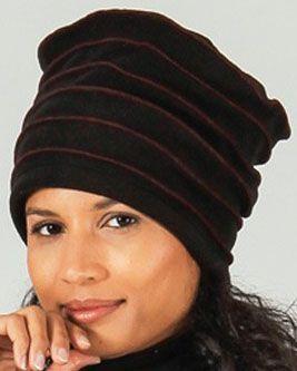 Bonnet pour femme original et pas cher Noir  Rufin 273209