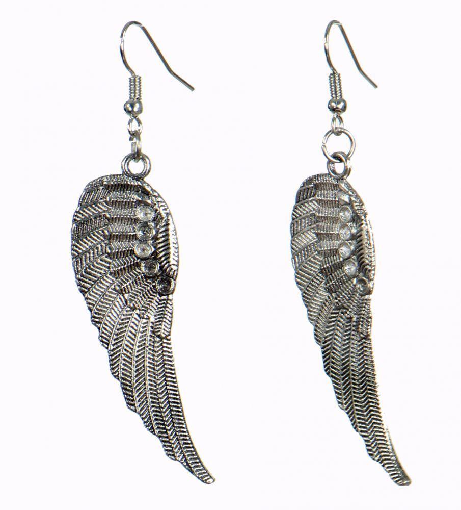 Boucles d'oreilles originales plume 249809