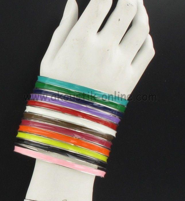 Bracelet en zinc coloré 239949