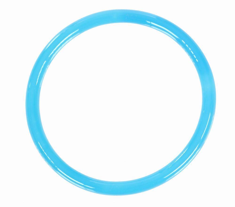 Bracelet original en verre gruy bleu turquoise 249323