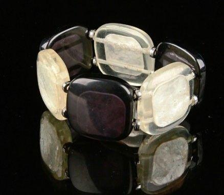 Bracelet square noir et blanc 243379