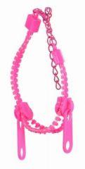 Bracelet zip rose 249263