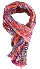 Ch�che foulard imprim� cuslu 38 en coton 263521