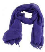 Chèche foulard violet en rayonne alcoko 248199