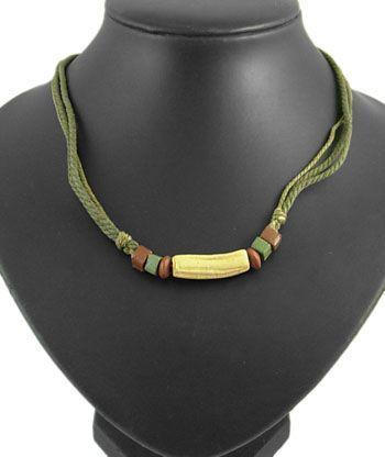 Collier en perles d\'argile n°3 256206