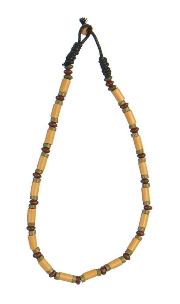 Collier original avec des perles en céramique clarte 247723