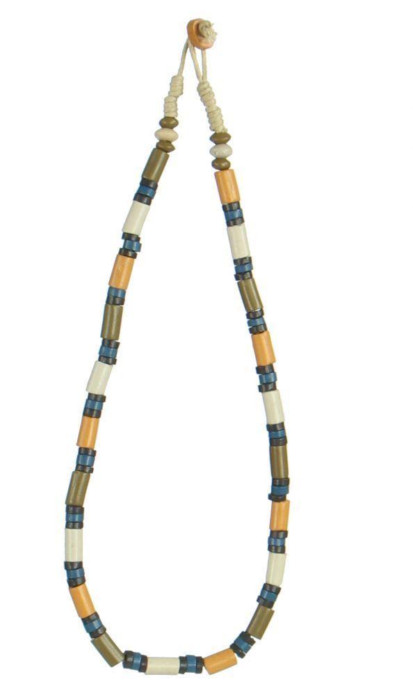 Collier original avec des perles en céramique megolt 247720