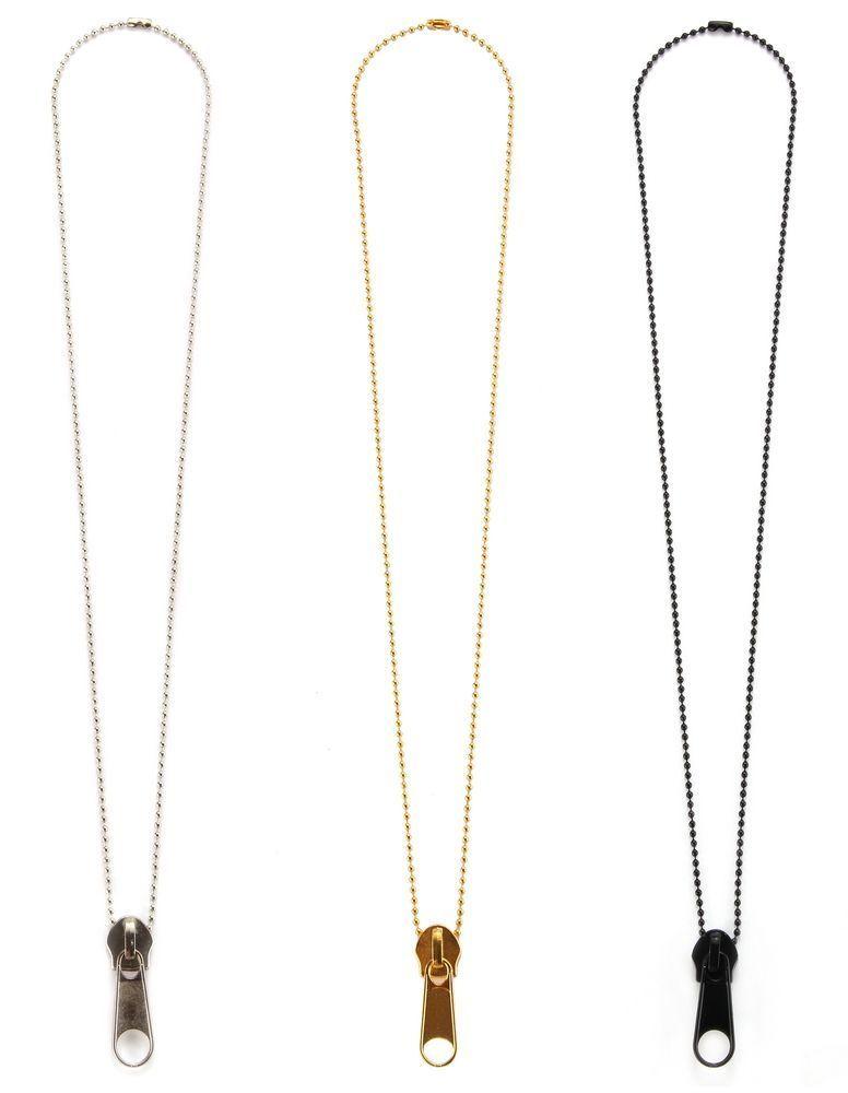 Collier pendentif zip 244738