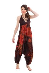 Combinaison Sarouel pour Femme Marron Originale et Ethnique Marcia 282077