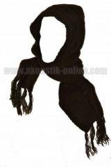 Echarpe avec capuche en laine doubl�e polaire 240682