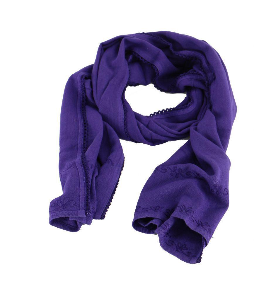 echarpe hunter violet 248202
