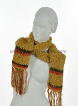 Echarpe laine jay jaune moutarde 237724