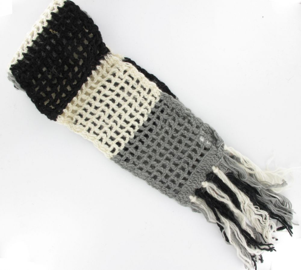 Echarpe laine retro n°3 243711