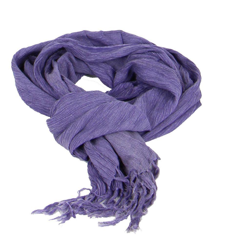 Foulard ethnique pouch violet 246346