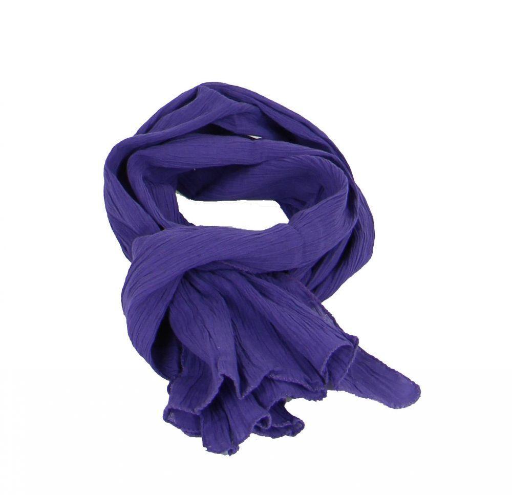 Foulard ethnique silou violet 246332