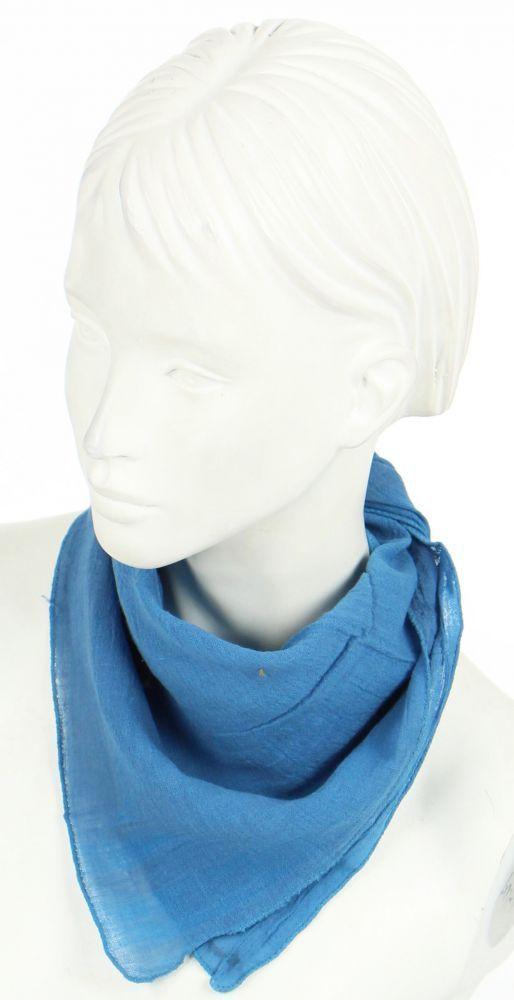 foulard liwat en coton bleu n°4 248579