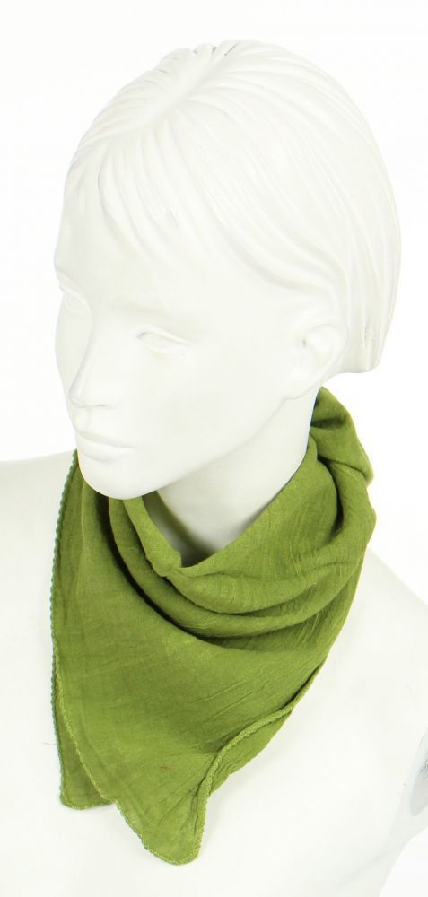 foulard liwat en coton kaki n°6 248583