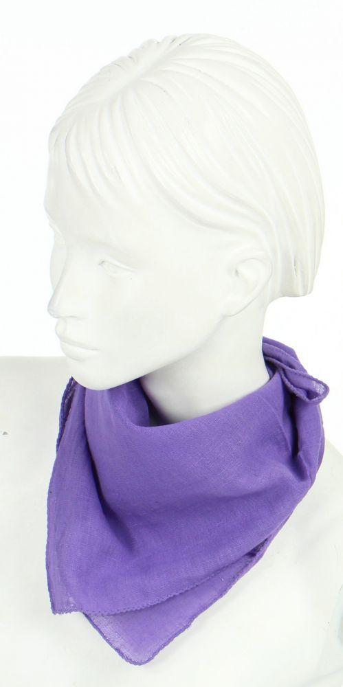 foulard liwat en coton violet n°1 248576