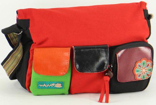 Grand sac Macha pas cher à bandoulière modèle Tiki 2 277227