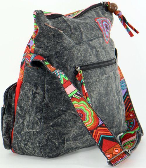 Grand sac Macha pas cher à bandoulière modèle Tiki 271538