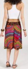 Jolie Jupe mi-longue ethnique et colorée - Lela 271869