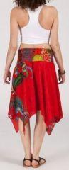 Jupe asymétrique originale et pas chère - rouge - Nahema 271863