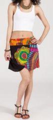 Jupe courte imprimée ethnique pas chère pour l'été Isabeli 4 271642