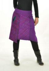 Jupe ethnique dina violette 243482