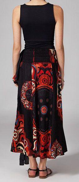 Jupe longue 2en1 transformable en robe Béatrice