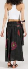 Jupe longue 2en1 transformable en robe-bustier Sarani n10