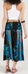 Jupe longue 2en1 transformable en robe-bustier Sarani n11