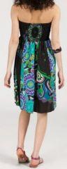 Jupe longue 2en1 transformable en robe-bustier Sarani n13 271436