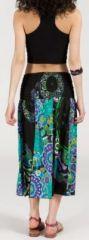 Jupe longue 2en1 transformable en robe-bustier Sarani n13