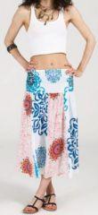 Jupe longue 2en1 transformable en robe-bustier Sarani n14 271438